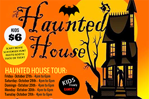 Halloween Nights! October 27th! $6 for kids, $11 for adults at the doors! CLICK HERE!